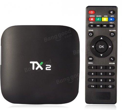 TANIX TX2 R2 RK3229 2GB RAM 16GB ROM TV Box £23.76 banggood
