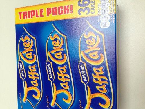 Jaffa Cakes Triple Pack £1.49 - Tesco Instore