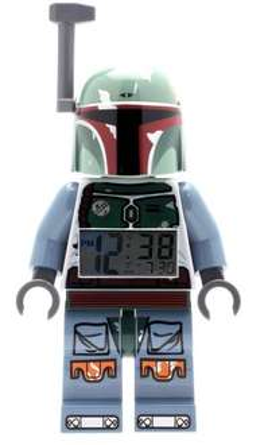 LEGO Star Wars Boba Fett Kids Minifigure Light Up Alarm Clock Was £24.99 Now £14.00 prime / £18.75 non prime @ Amazon