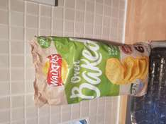 6 pack walkers oven baked crisps sour cream & chive flavour 69p @ Heron