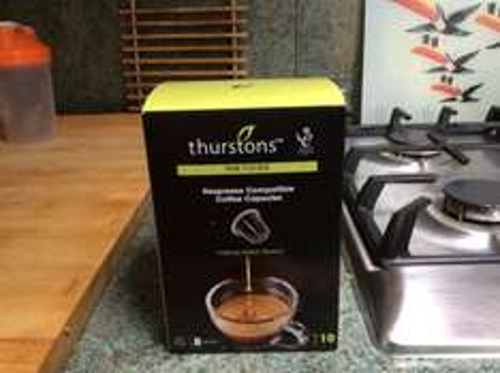 Tesco Metro Thurstons Nespresso Compatible Coffee Capsules £1