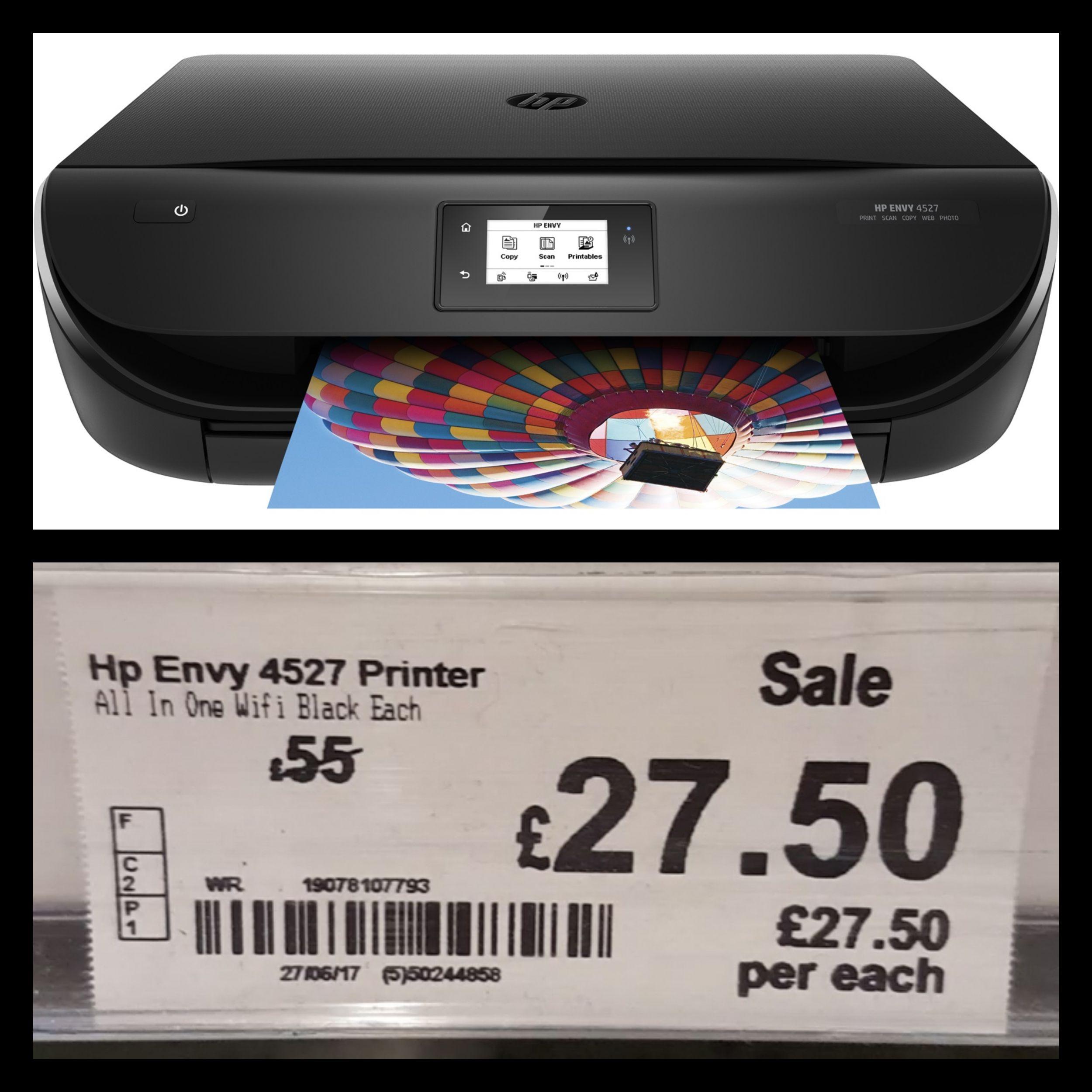 Hp envy 4527 £27.50 instore @ Asda (Southampton)