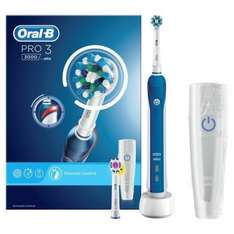 Oral B Pro 3000 Cross Action Electric Toothbrush for £45 at superdrug