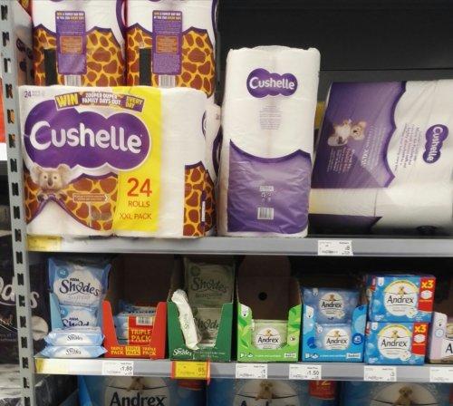 Cushelle toilet rolls. 24+ 8 free packs £8. @ Asda