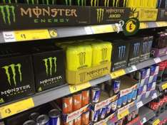 Monster Energy Drink 4 Pack several varieties £3 @ Morrissons