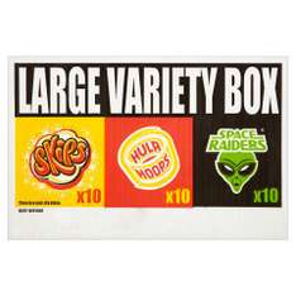 Large 30x KP Crisps Box Mixed £3.00 Asda