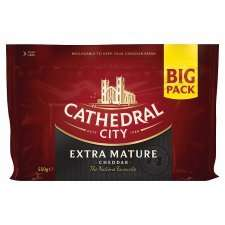 Cathedral City Mature Cheddar and Extra Mature 550g £2.50 @ Tesco reduced from £5