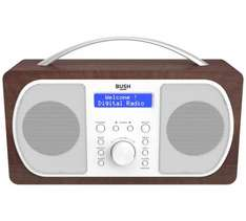 Argos; Bush DAB Radio - Walnut 572/2211 Half Price was £49.99 now £24.99