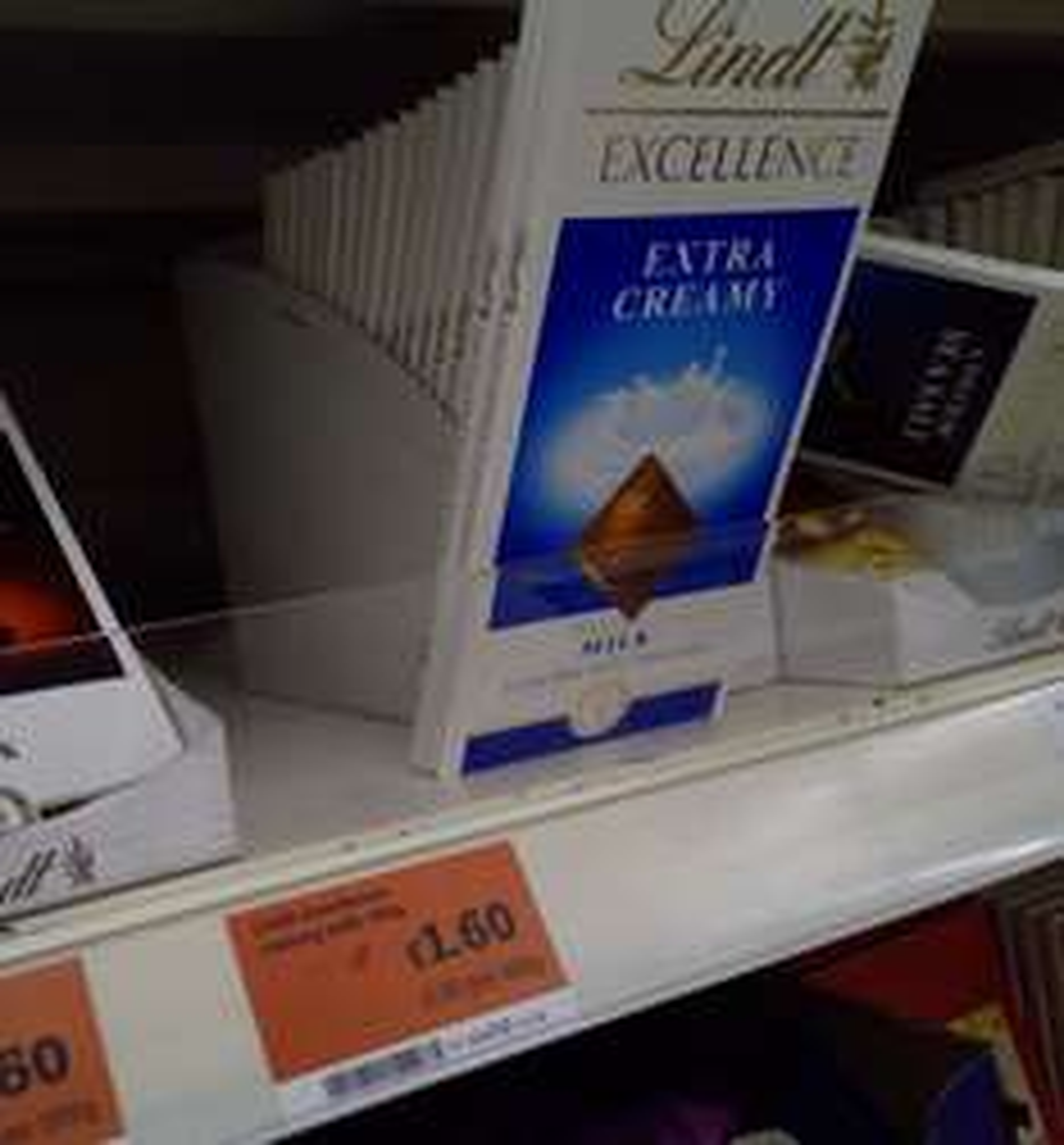 Lindt Extra Creamy Chocolate - £1.60 at Sainsbury's