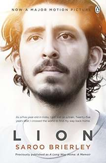 Lion: A Long Way Home By Saroo Brierley Kindle Edition 99p @ Amazon
