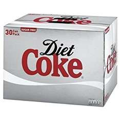 30 Cans of Coke/Diet/Zero at Morrisons Online for £7.75