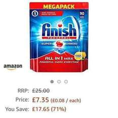 Amazon prime now 90 finish all in 1 max £7.35