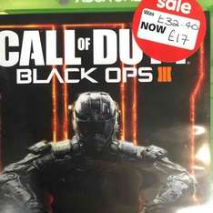 call of duty black ops 3 for Xbox one £17 @ Asda