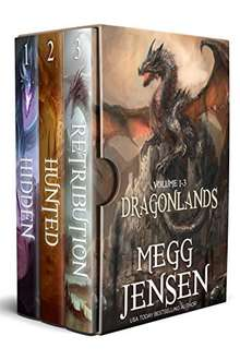 Science Fiction & Fantasy Series Trilogy Box Set - Megg Jensen - Hidden (Dragonlands Book 1) , Hunted (Dragonlands Book 2) &   Retribution (Dragonlands Book 3) Kindle Editions  (Normally £3.49 Each)  - Free Download @ Amazon