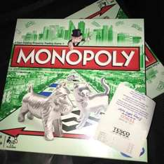 Monopoly Board Game, reduced to £5.50 at Tesco's