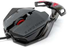 Mad Catz RAT1 Wired Optical Gaming Mouse - Black. £12.50 (Prime) / £14.49 (non Prime) at Amazon
