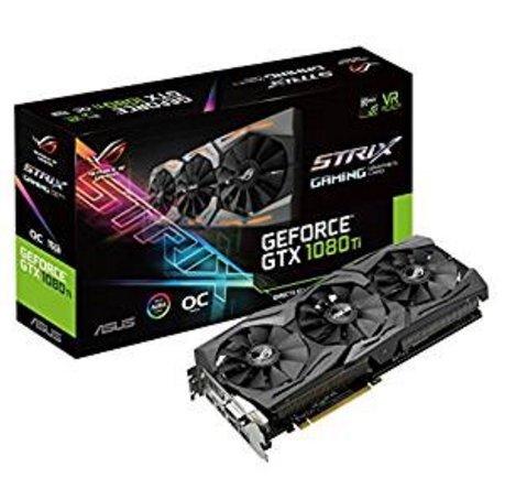 ASUS ROG-STRIX-GTX1080TI O11G GAMING GF GTX 1080 Ti £666.66 @ Amazon