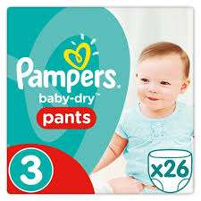 Pampers pants size 3 (26 pack) - £2.50 instore @ Tesco (Bromley)