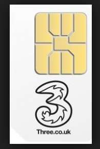 One Month SIM only with Three via Uswitch - 30GB, 600 mins & unlimited texts, £20 a month