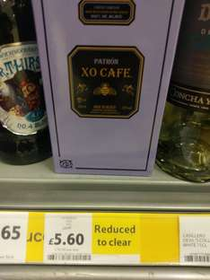 Patron Cafe reduced even further - £5.60 @ Tesco instore