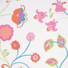 Wallpaper  summer garden floral £1.00 b&q