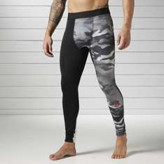 REEBOK Fitness & Training Spray Camo Compression Tights was £29.95 Now Only £14.97 (£18.92 delivered) @ Reebok