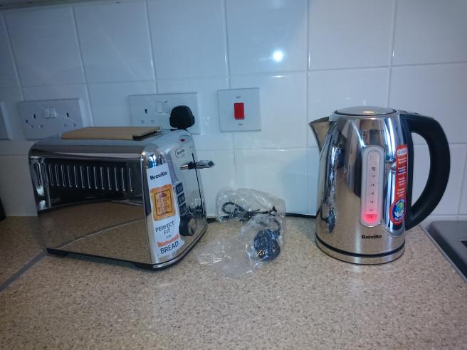 Instore Tesco Nottingham...Breville still hot jug kettle & Breville Warburton toaster £9 each