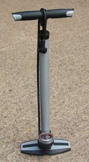 Raleigh Steel Floor Pump With Gauge Silver £9.99 delivered @ Rutland cycling **price dropped**