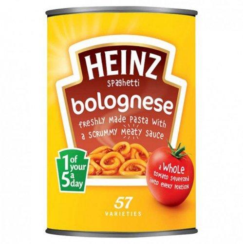 Heinz tinned spagbol 29p @ Poundstretcher