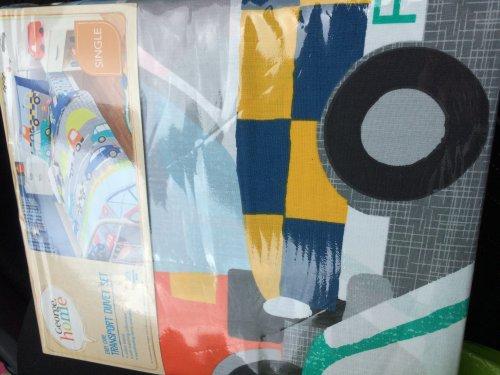 Kids single transport duvet set only £4.50 @ Asda instore