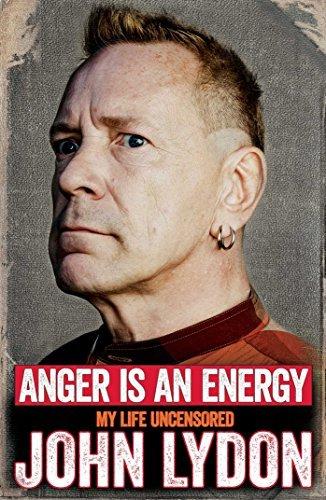 Anger is an Energy: My Life Uncensored - John Lydon @ Amazon 99p Kindle Edition