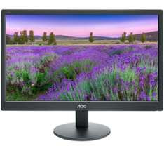 "AOC e2070Swn 19.5"" LED Monitor - £35.97 @ Currys"