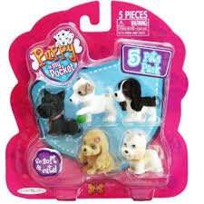 Puppy in my pocket five pack £2.50 tesco st Helens