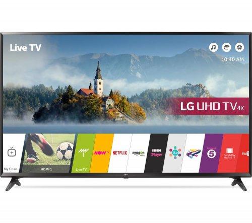 """LG 65UJ630V 65"""" Smart 4K Ultra HD HDR LED TV Amazon Prime Day £1039"""