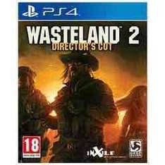 Wasteland 2 - Directors Cut PS4. Now £9.99 with free delivery @Game