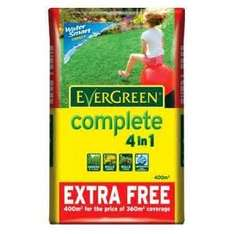 Evergreen 4 in 1 400m2 instore at Tesco for £7