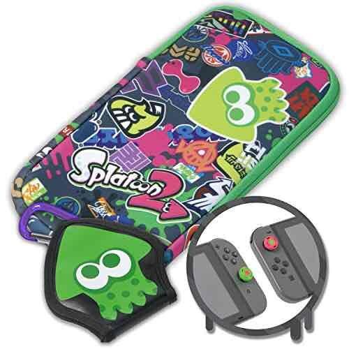 Splatoon 2 Nintendo Switch case and accessories @ Amazon (Preorder) - £17.99