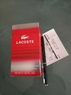Lacoste Red EDT 50ml £15.50 in Boots