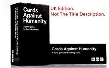 Printable Cards Against Humanity, UK Version.