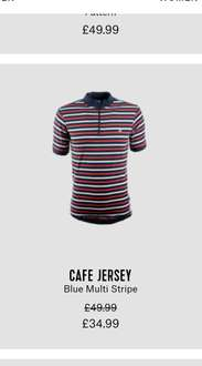 Chapeau cafe cycling jersey was £49.99 now £34.99