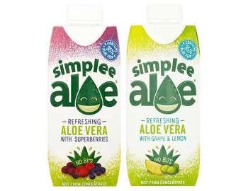 FREE Simplee Aloe drink 330ml- ClickSnap (Quidco)