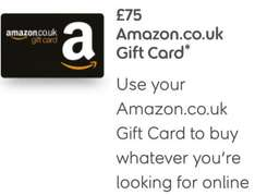 Choose a £75 gift card when you take out the Sunlife Guaranteed Over 50 Plan only pay £4 once.