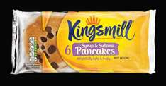 Half Price Kingsmill Rolls,Pancakes Crumpets  37p & Bread 50p @ Iceland