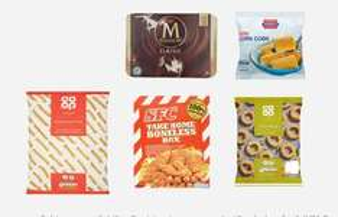 CO-OP new frozen meal deal now on £5.00 (£4.50 NUS)