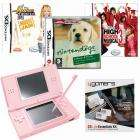 DS Lite Pink + Nintendogs Labrador + High School Musical 3 + Hannah Montana + Accessory Pack - £132.86 @ Game