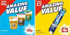 Pot Noodle (90g) varieties as stocked ONLY 50p @ Poundworld (INSTORE)