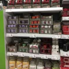 Asda Yankee home inspiration candles on sale 50p instore huyton