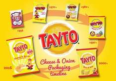 Tayto Cheese & Onion Flavour Potato Crisps 12 x 25g (300g) was £2.00 now £1.50 @ Iceland