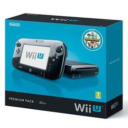 Wii U 32GB Premium Black Console (Fair Condition) with Mario Kart 8 & Super Mario 3D World - £119.99 @ GAME