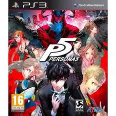 Persona 5 (PS3) £32.99 @ 365games